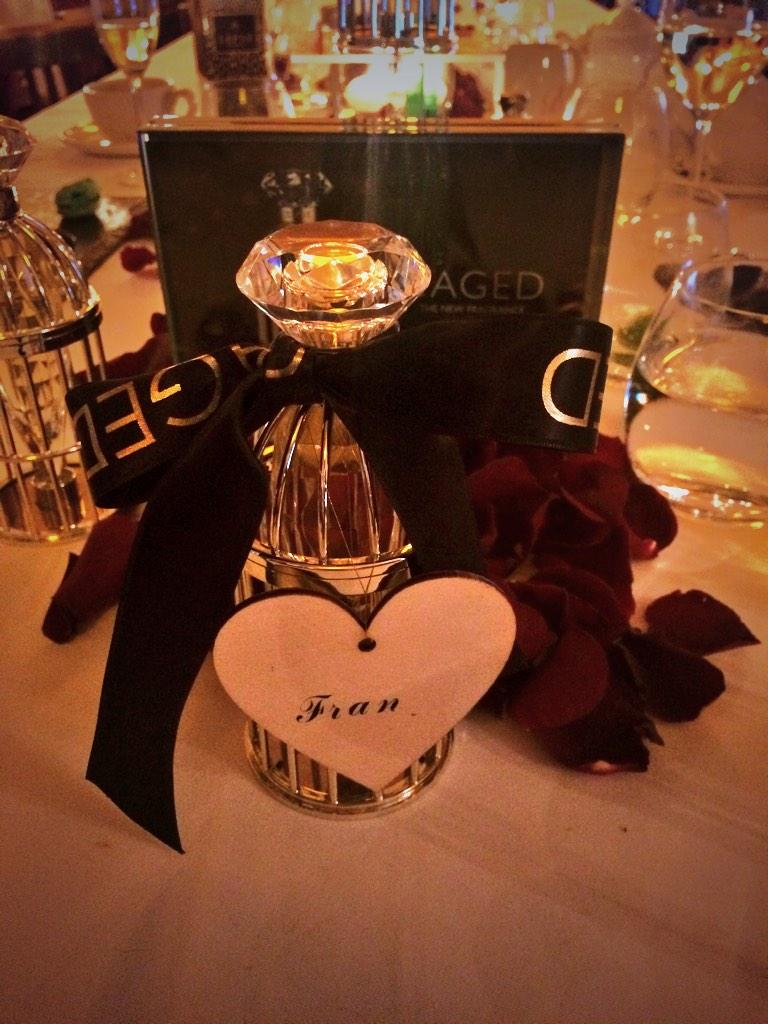 Thank you so much for the delicious lunch at Balthazar. Love the new #lipsycaged fragrance 😘 http://t.co/87P9aXmJqF