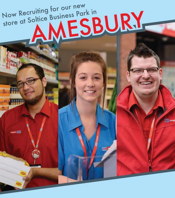 Home Bargains On Twitter Come Work For Us In Amesbury New Store