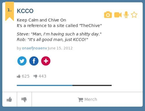 Chive on urban dictionary