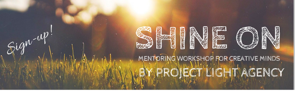 I'm happy to launch #ShineOn a mentoring workshop for creative minds!  #France #UK #RT http://t.co/px6RXFXd5S http://t.co/Nk6OpovKv8