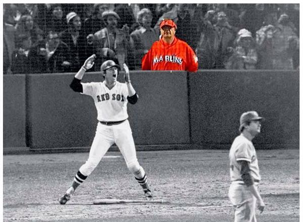Marlins Man at 1975 World Series (courtesy @gbennettpost) #marlinsman #marlins #worldseries #royals #giants #redsox http://t.co/Uy6TDE2vZo