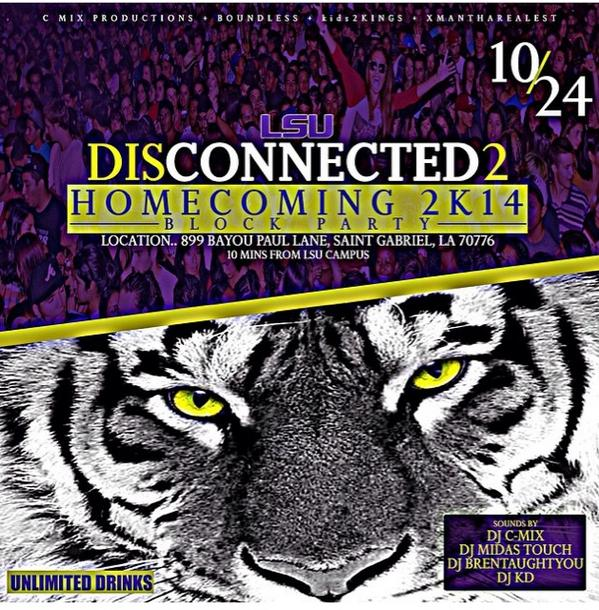 #Disconnected2 TONIGHT!!! Field/Block Party #UnlimtedFreeDrinks  ..
