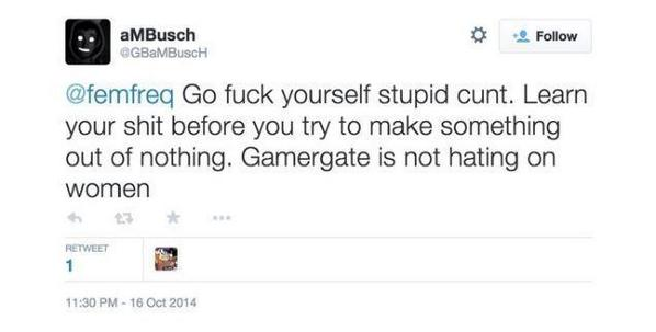 Gamergate in a nutshell. http://t.co/IqPklcYQhg