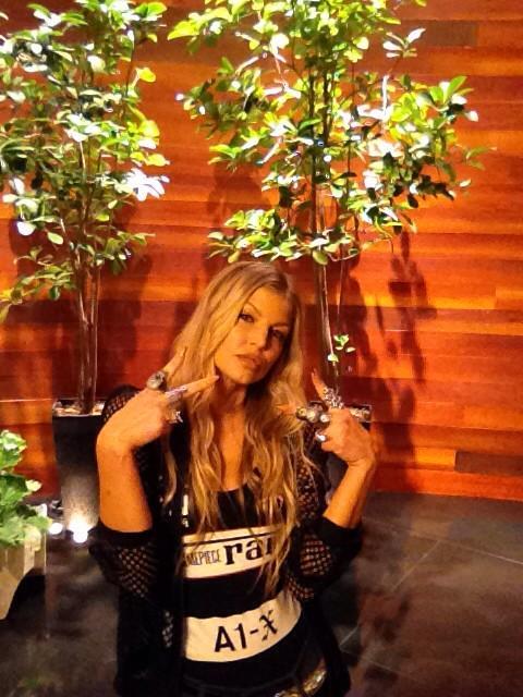Fergie ellen degeneres show - Chaka Khan