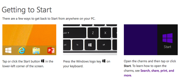 3 ways to get back to the #Start on Windows 8.1. http://t.co/qItgUe2EXs