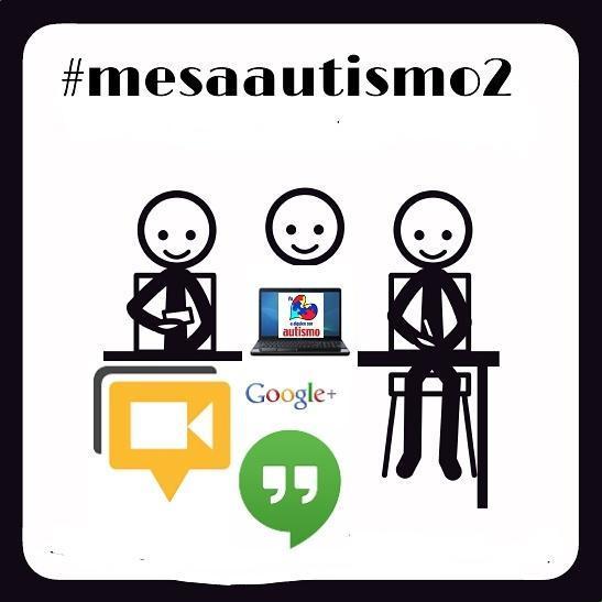 Estamos en  #mesaautismo2 padres, madres y profesionales. http://t.co/mRkexaK2Lv