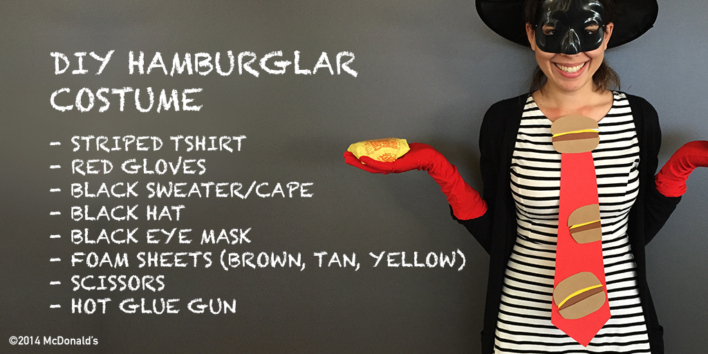 mcdonalds on twitter hope no one steals your halloween costume hamburglar has you covered httptcoegkumcaozz
