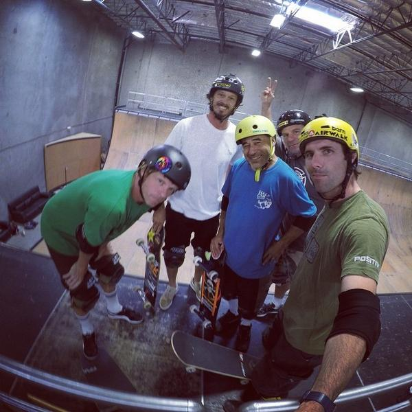 At 41yrs old, I was the grom of the session today. #fountainofyouth #gopro #hero4 #goproapp @vertskateboarding http://t.co/KzJ3RUR1nC