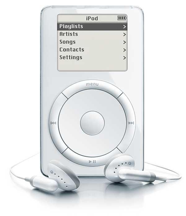 On this day in 2001, Apple unveiled the first iPod. Our look back at the iconic device: http://t.co/l95QqRHl2B http://t.co/DzH6pNMRVU