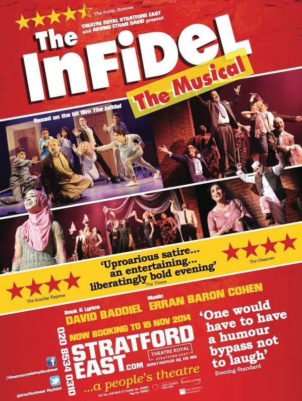 RT @InfidelMusical: We've been extended due to popular demand to 15 November. ★★★★ - The Observer  ★★★★  The Sunday Express http://t.co/BQ8…