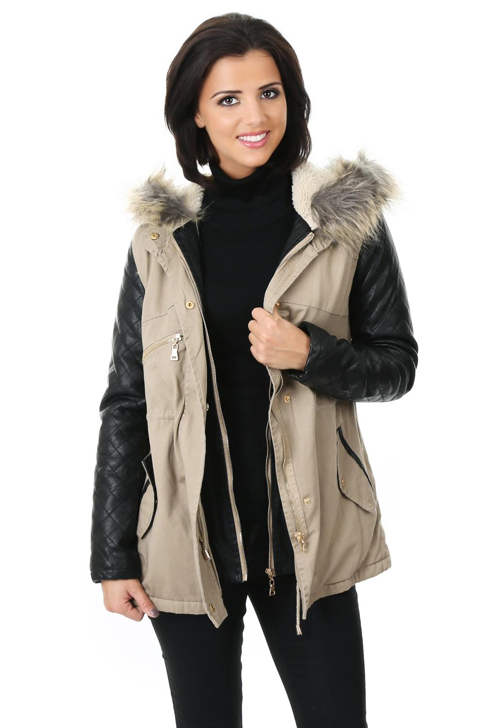 RT @lucys_boutique: Our 'Maisy' Parka is now back in stock in black & tan in all sizes!! You can get yours here: http://t.co/KklsNwbkhr htt…