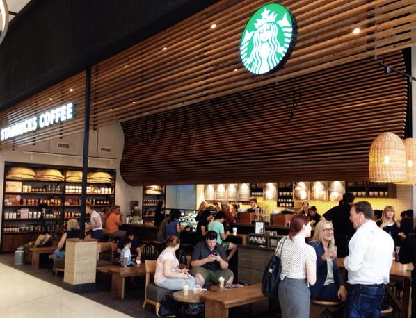 Starbucks Australia On Twitter Now Brewing Westfield Garden