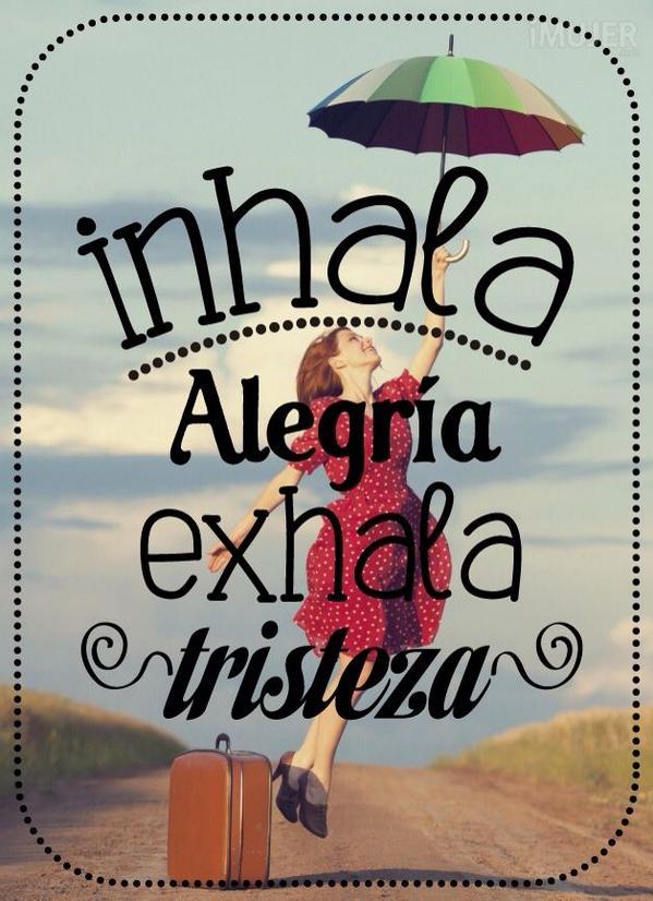 Womenalia On Twitter Consejo Para Hoy Viernes Inhala Alegría