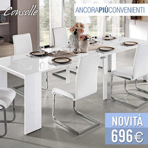 Tavoli A Consolle Mondo Convenienza.ট ইট র Mondo Convenienza Il Tavolo Trasformabile