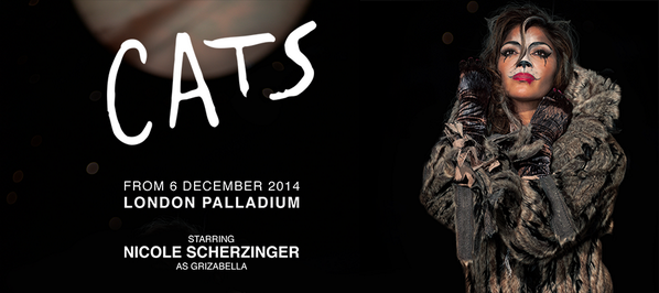 Here's a first look at @NicoleScherzy as Grizabella in #CatsLondon! See all the pics here » http://t.co/NOMzisUhxK