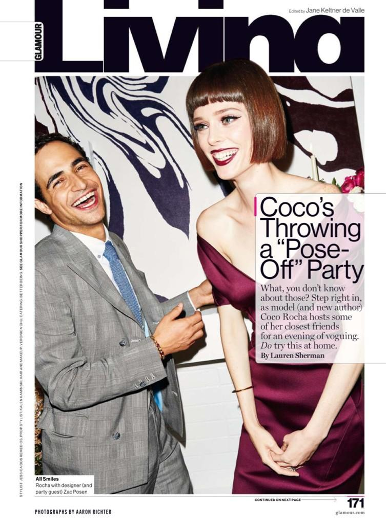 Stop everything, you guys NEED to see this pose-off party I threw with @glamourmag for #StudyOfPose http://t.co/pOWpGdqUIG