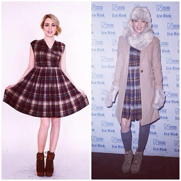 Be on trend in Tartan with @BellaSorella251   Green Tartan Dress Was £62 Now £32  Buy> http://t.co/xnoNwg1YGd http://t.co/fGVFpquF1D