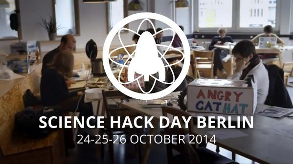 Good luck to our partner event Science Hack Day Berlin, kicking off today! / @shd_berlin #SHDB14 http://t.co/eeorRU3ejb