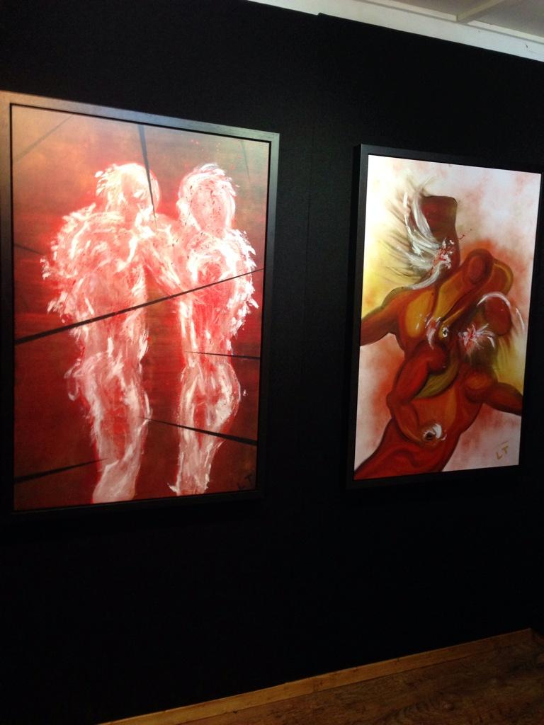 Sooo excited! Just driven past @AntidoteArt getting ready for tonight's @LincolnTownley exhibition!!! http://t.co/PlR2SSC76K