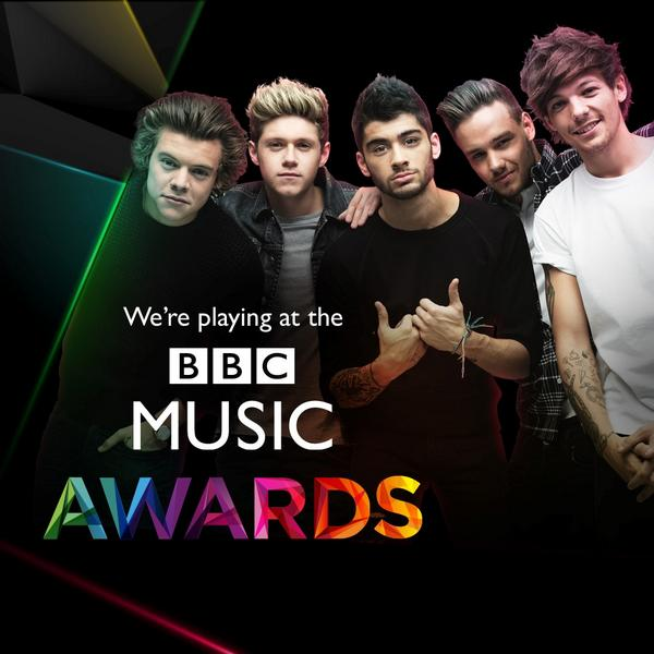 UK! 1D are at the #BBCMusicAwards on December 11th. Tickets are available here  .