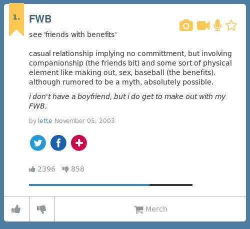 Fwb urban dictionary
