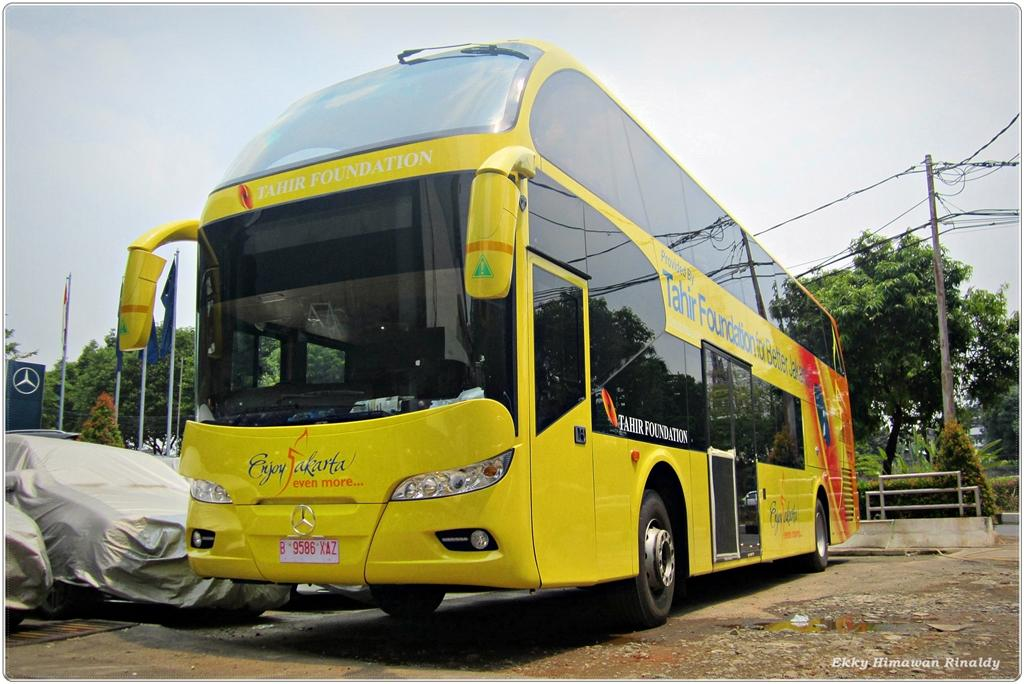 [buatan lokal] Jakarta Punya Bus Tingkat Baru
