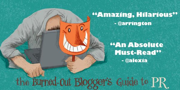 The paperback edition of The Burned-Out Blogger's Guide to PR is now available! On sale for $9 http://t.co/VhEOxFWOr4 http://t.co/OT5lM2xf0u