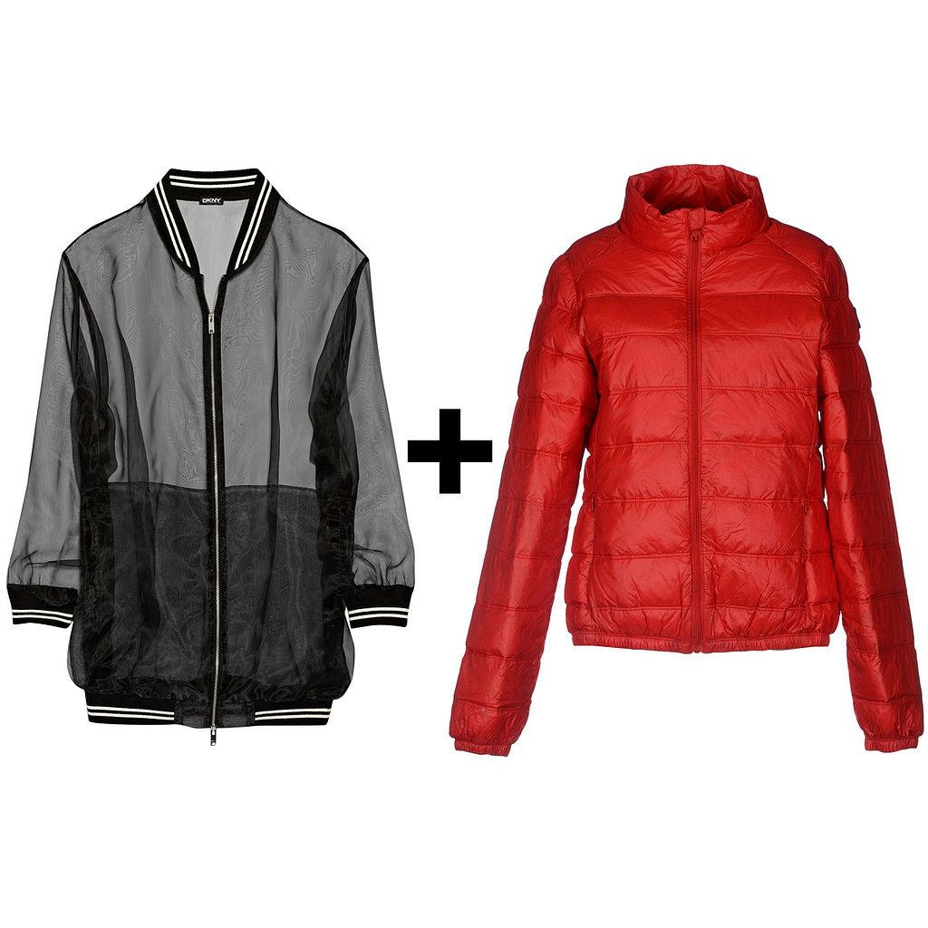 The coolest jacket pairing ever? This @dkny bomber + your puffer. Here's how to get the look: http://t.co/orKxfWyvLb http://t.co/gXHcZvAbd5