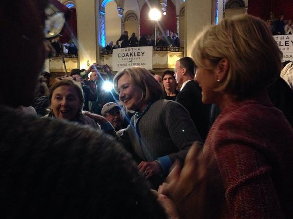 Every single vote is going to matter in this election. Let's get out there & win! #Clinton4Coakley! #magov #mapoli http://t.co/mkqbuf68ub