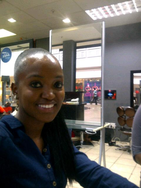 Mpho Putini On Twitter Got My Hair Did Thanks To Nubian Hair