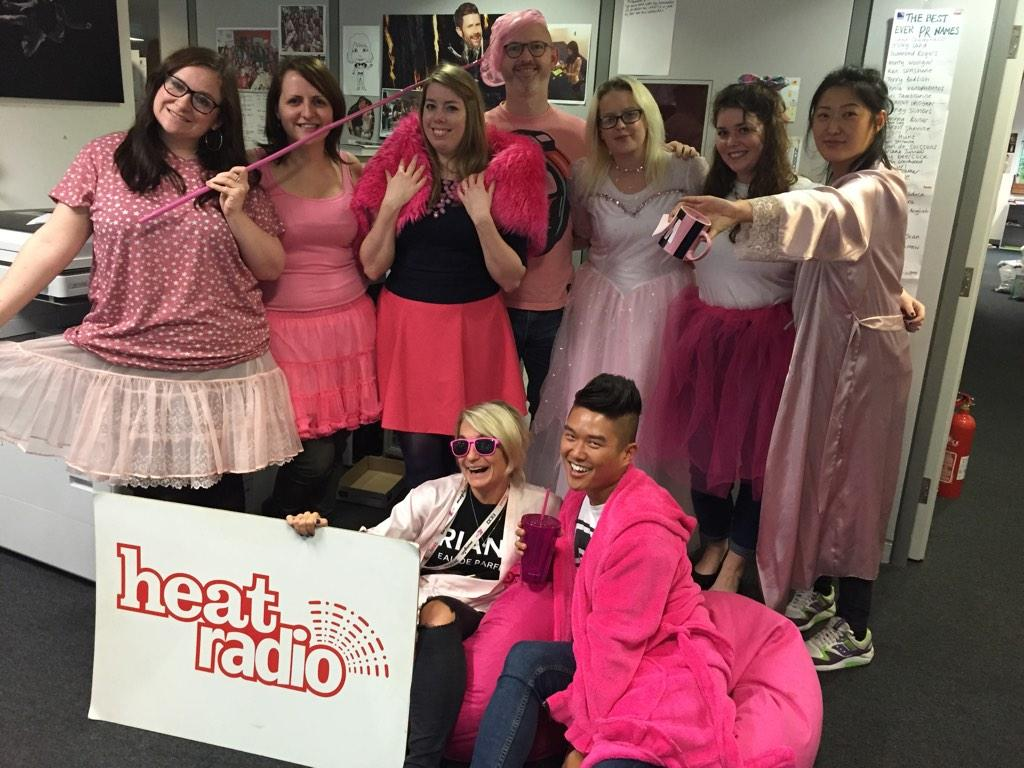 RT @heatworld: Good job we got the memo in heat towers to #wearitpink @BCCampaign - it's a WHOLE day of diva anthems on @heatradio http://t…