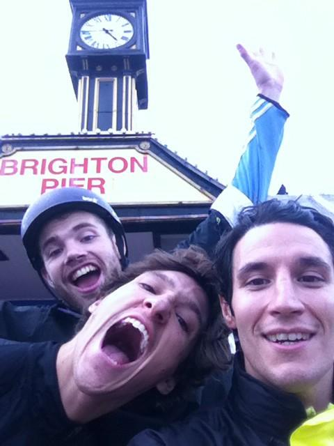 Well done! RT @loztino: 9hrs17mins later. @JackKelly24 @jameswilliams8 @SMG_London  #boristobrighton http://t.co/b0MsZJZ6jK