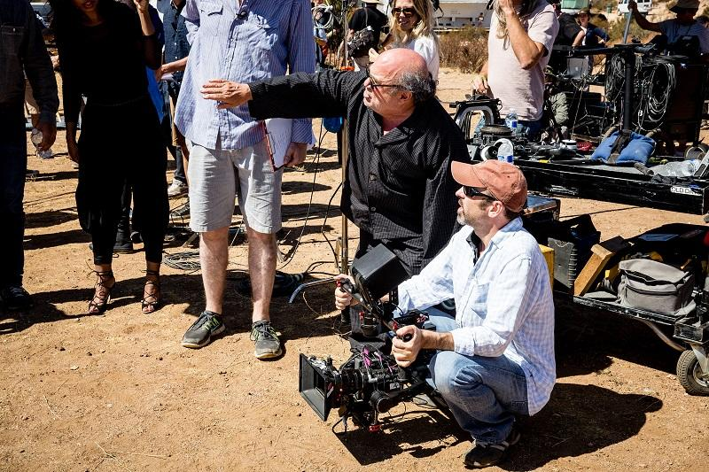 If you wanna see THE LEGEND that is @DannyDeVito directing the guys...  #StealMyGirlVEVORecord http://t.co/nSaAZxl3oL http://t.co/jm4NWIsLyp