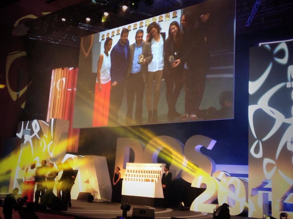 Congratulations to our compañeros in Madrid who won a Gold and Bronze in the Effies yesterday! @VCCPSpain http://t.co/yyGmfazncj