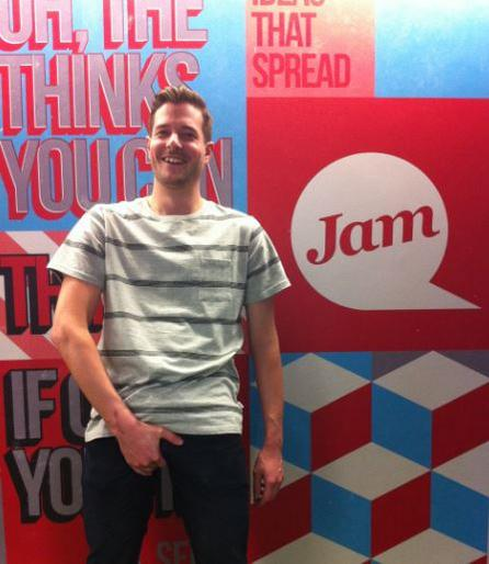 We've been #FeelingNuts with @iangambier here to support @check_one_two. Make sure you tune into @Channel4 toinght! http://t.co/T8ia0ydX8H