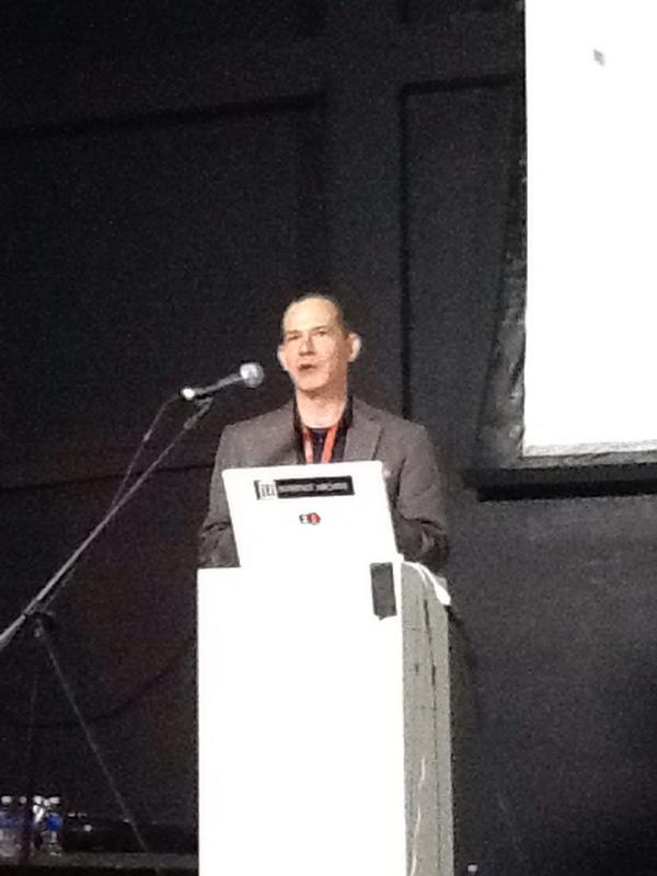 Peter Brantley @naypinya opening second day of Books in Browsers conference  #bib14 http://t.co/knGcIrPv3V