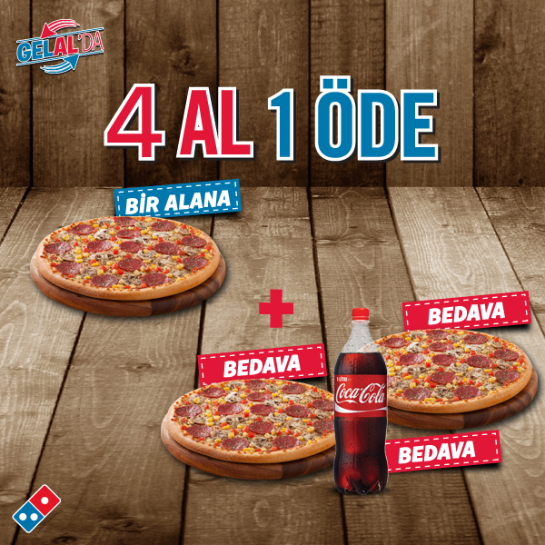 Dominos Pizza Tr On Twitter Acıkanlara Müjdemiz Var 1 Pizza