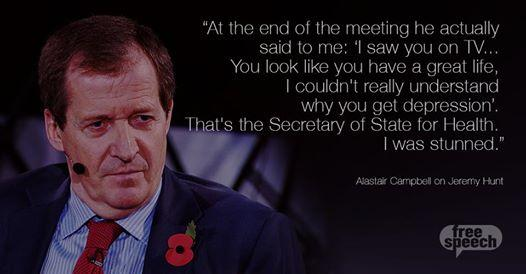Missed @BBCFreeSpeech Mental Health Special? Powerful TV @campbellclaret on panel. Catch up: http://t.co/pbYS3h7ss8 http://t.co/7TbVgG6Sru
