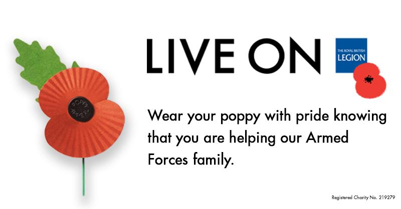 RT @PoppyLegion: #PoppyAppeal has launched! Get your poppies from today and support our Armed Forces family. http://t.co/6P5T8sNP3w
