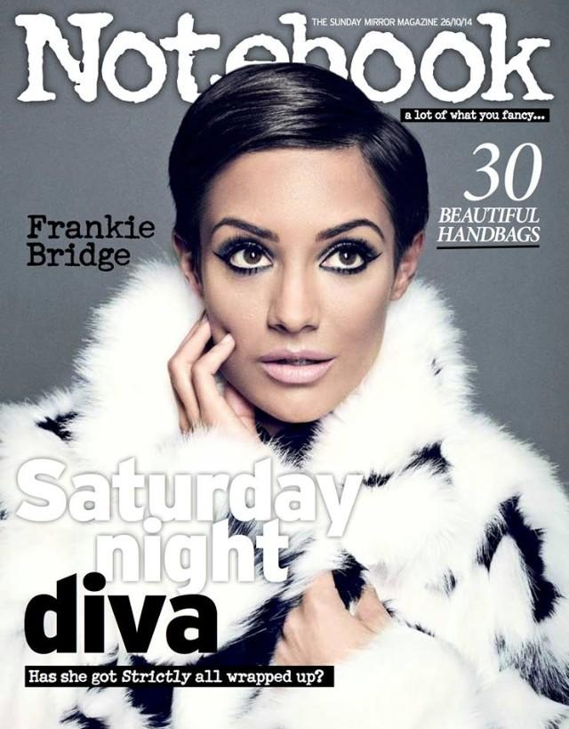 RT @notebooklive: This Sunday, our beautiful cover star @FrankieTheSats chats about life as a wife, mummy & @bbcstrictly star. http://t.co/…