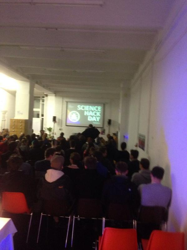 About to start!! #SHDB14 http://t.co/6lufCMmorj