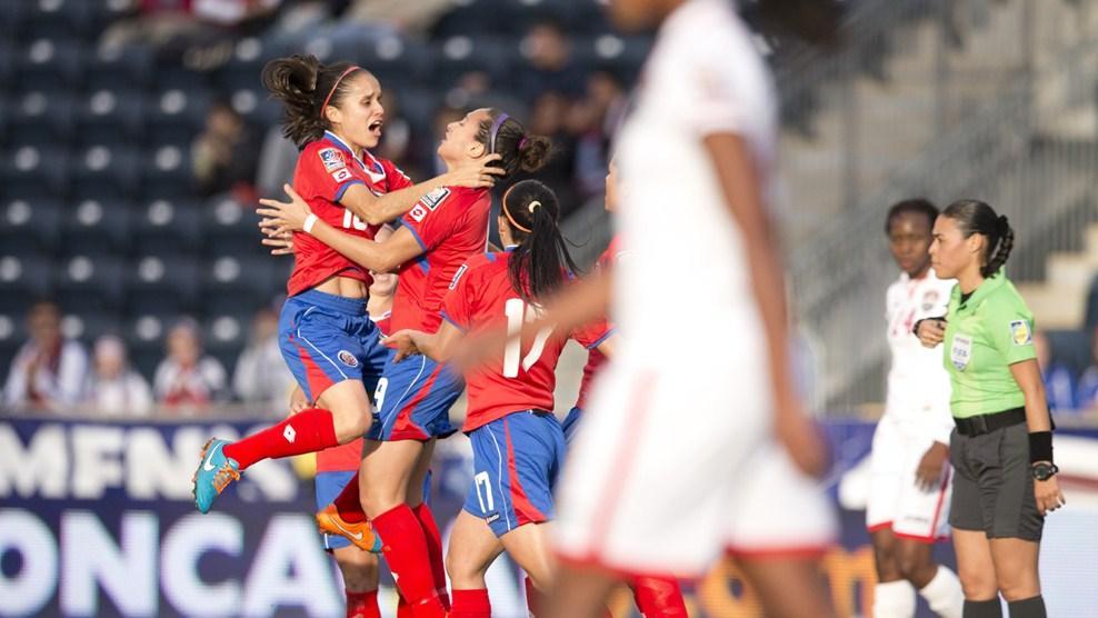¡CANADÁ ALLÁ VAMOS! Costa Rica accede a su primer mundial femenino mayor