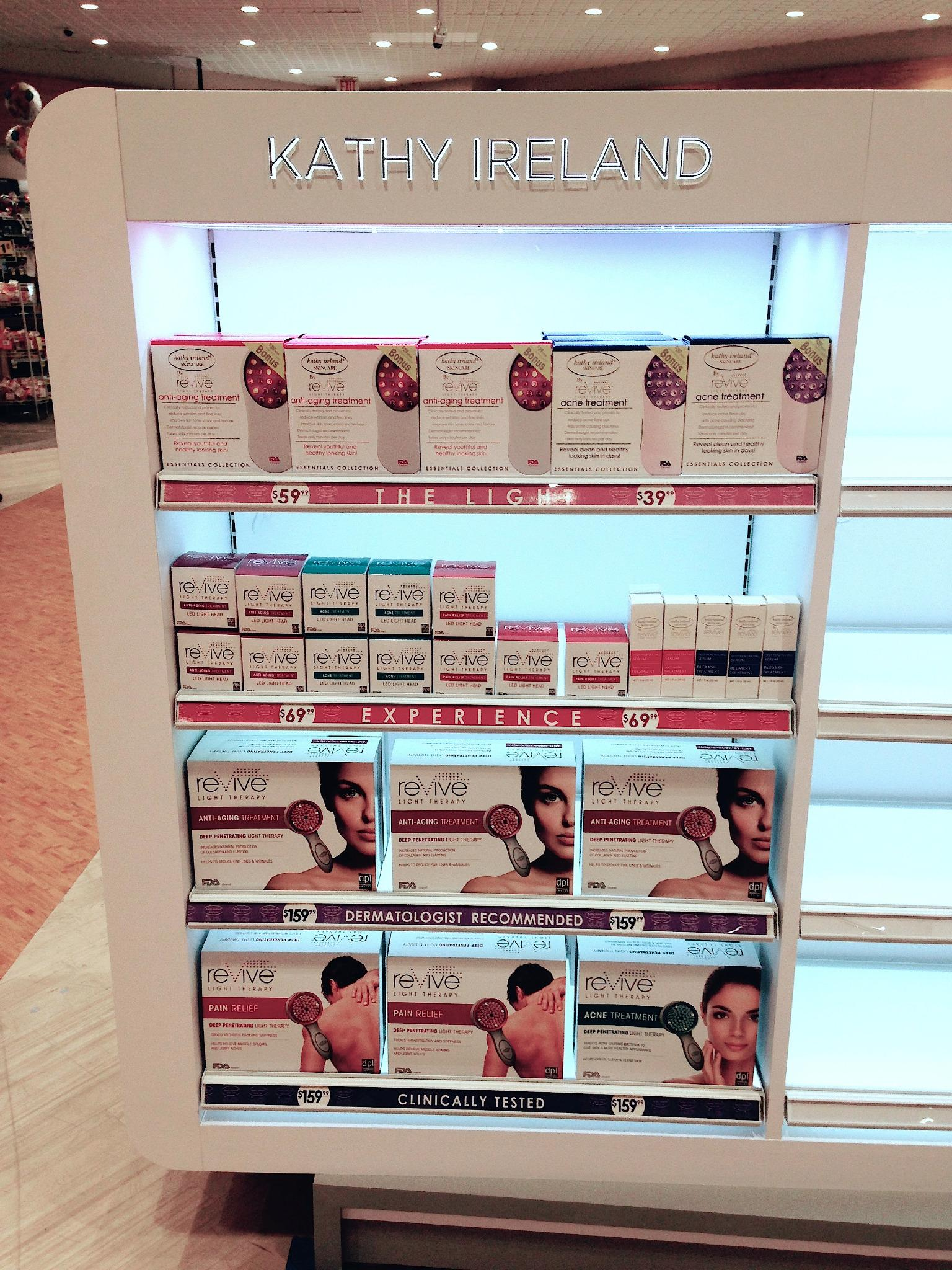 RT @Stephen90069: Happy @kathyireland by @reViveLight is available @ @riteaid. Have you used Light Therapy for acne, wrinkles or pain? http…