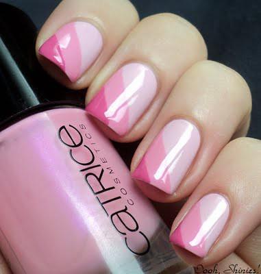 Nail Art Studios On Twitter Pink Nail Art Design Pink Nail