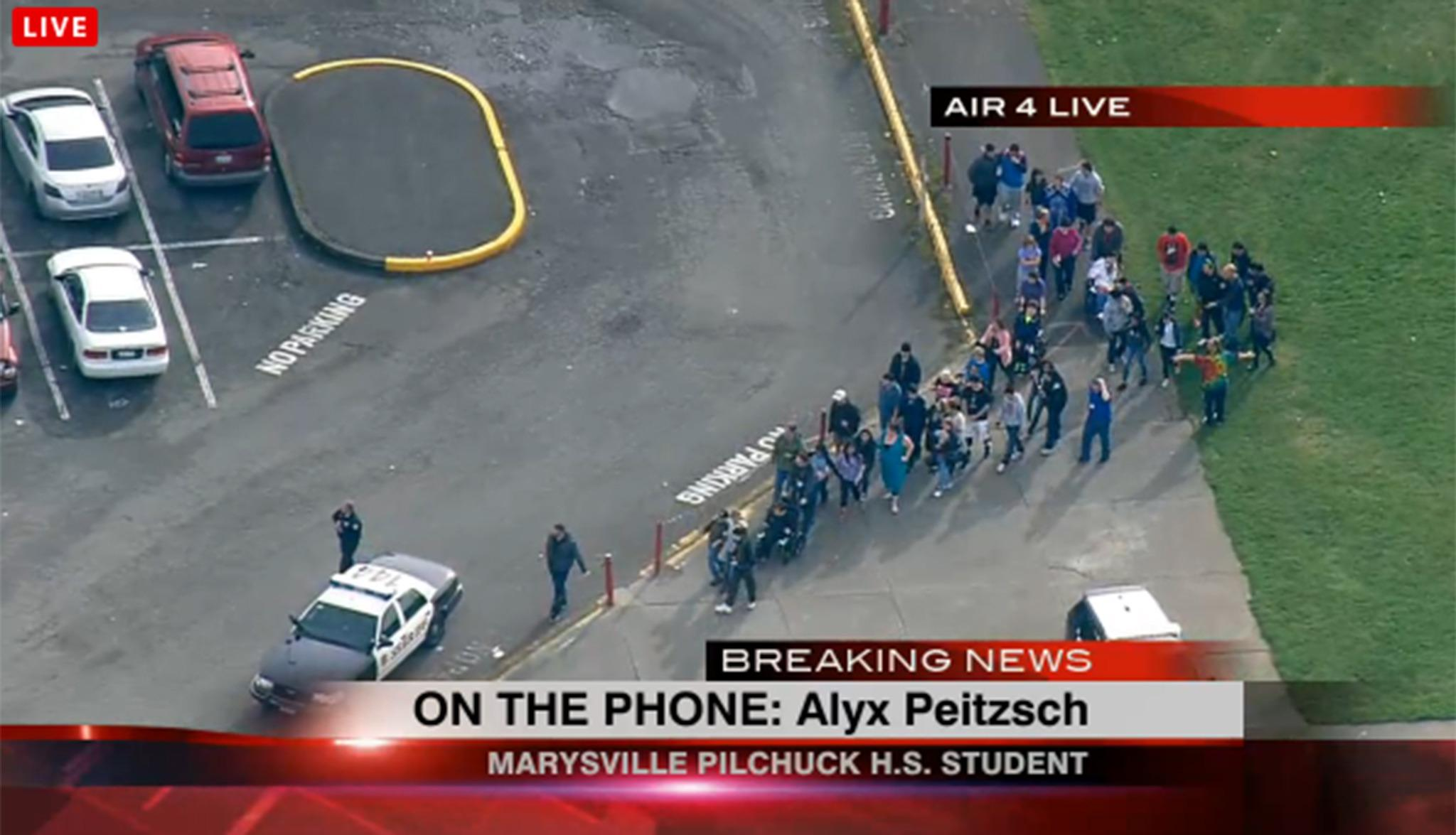 RT @Independent: Two dead including a gunman in Seattle school shooting at Marysville-Pilchuck High School http://t.co/4cNMYPHcVs http://t.…