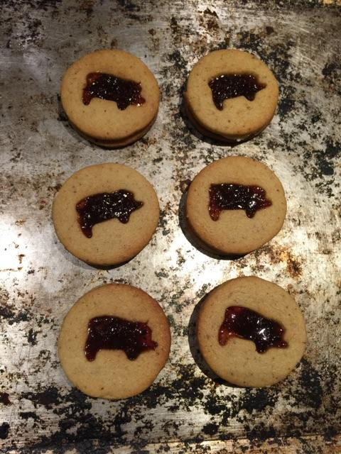 In honour of @SJRestaurant 's 20th birthday: Bacon Jammy Dodgers http://t.co/ya8igFishv