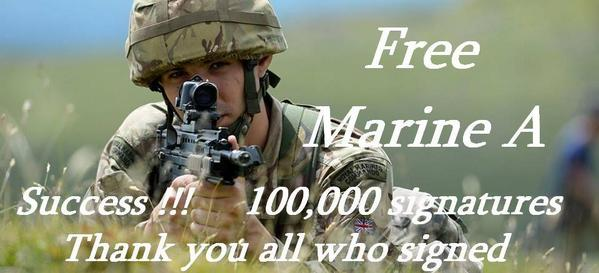 #FreemarineA 100,000 signatures.  YES! http://t.co/cG66phFlW2