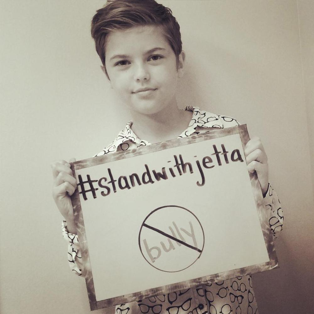 Support the cause and #standwithjetta to help stop bullying 🚫. Visit her FB page here: http://t.co/egMzQrZ6LG 💛💛 http://t.co/tEab5LXbRv