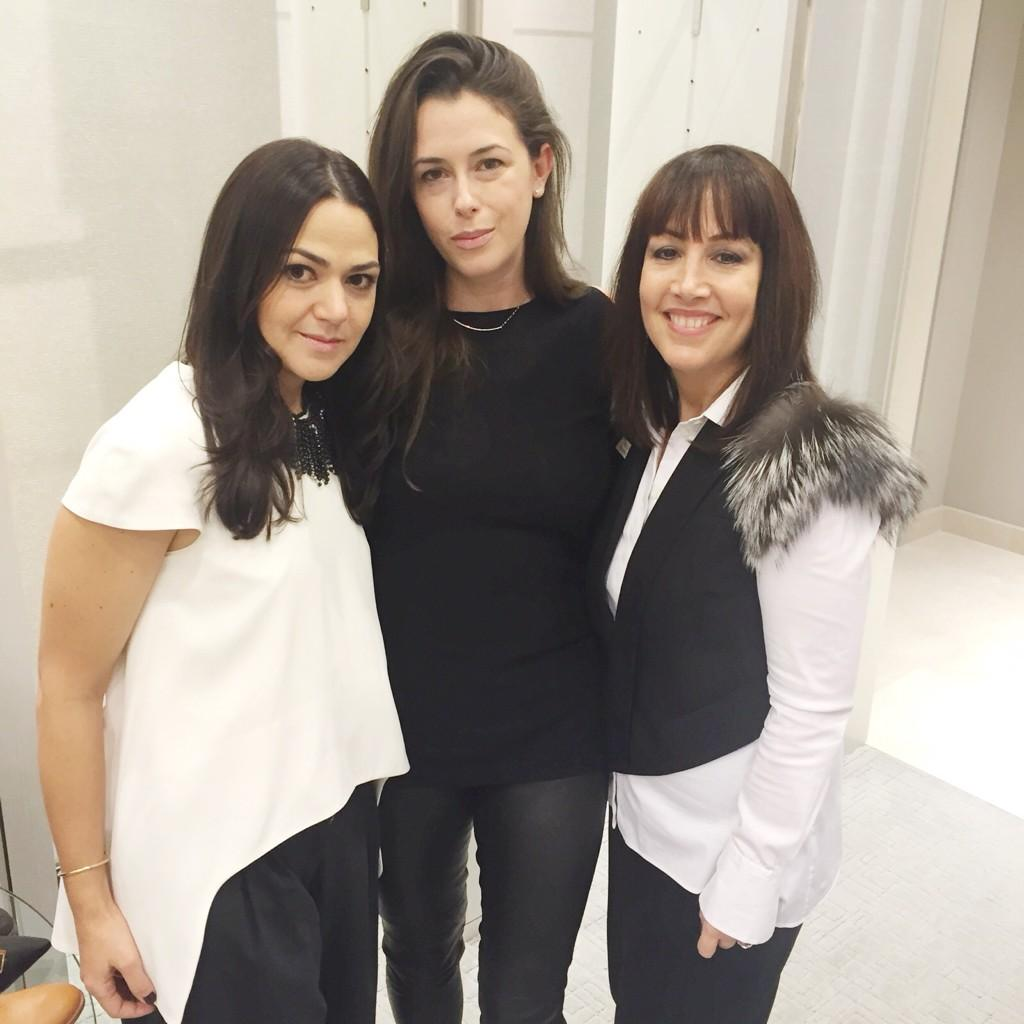 Accessories director Ana Maria, designer @Lanajewelry & NM store manager Wendy at NM Michigan Ave. #NMevents http://t.co/ockB1uyVRt