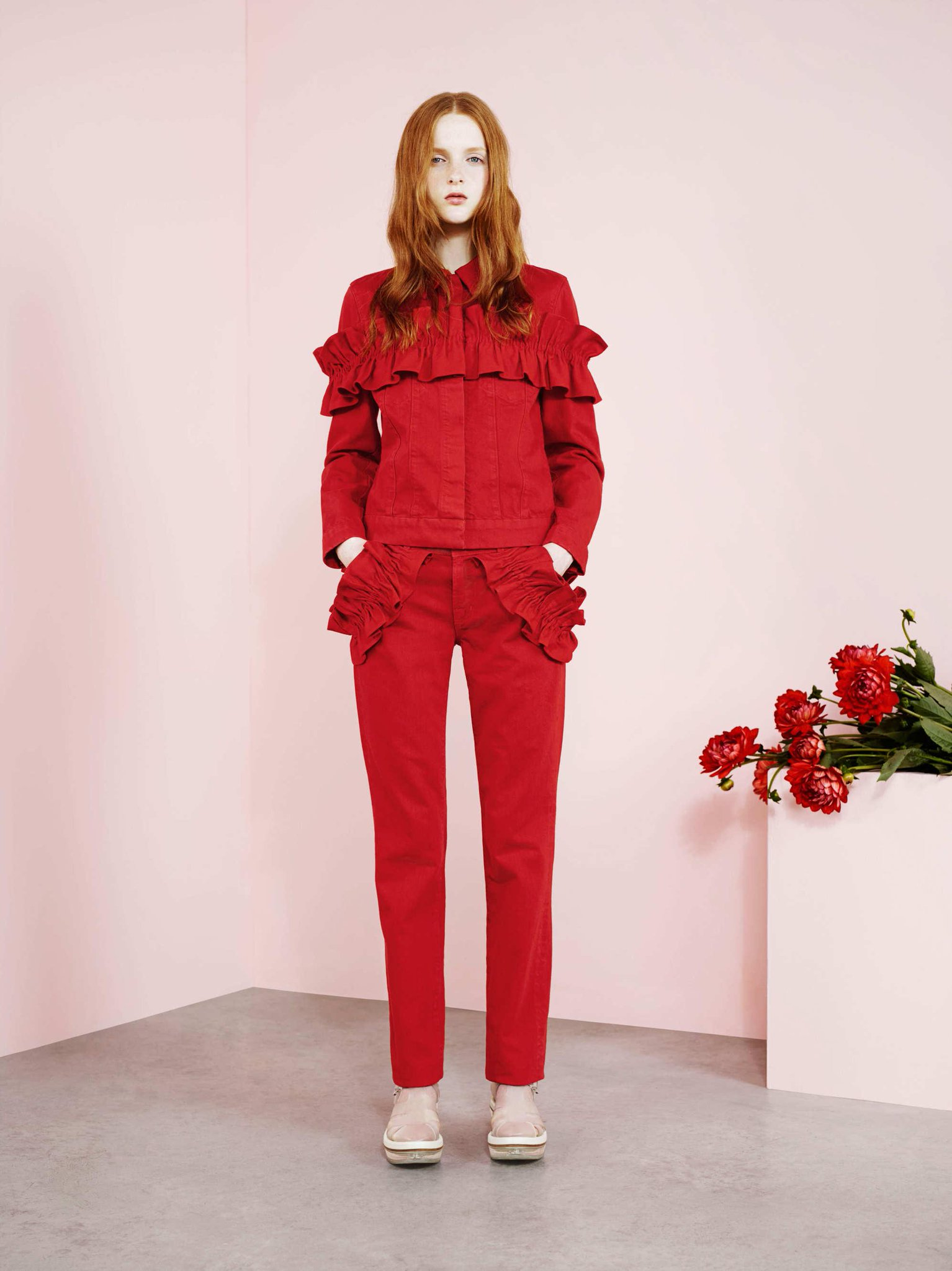 Here's your first look at the Simone Rocha for J Brand collaboration: http://t.co/f4Lyx0M3Ih http://t.co/s0z4fJYGy0